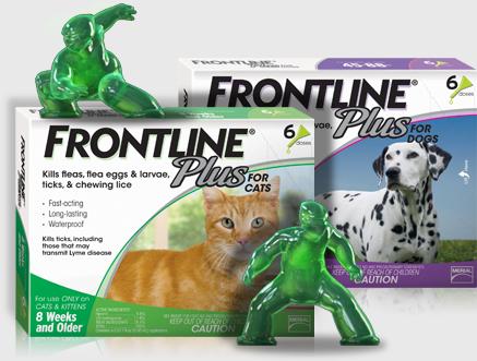Frontline Plus Flea and Tick