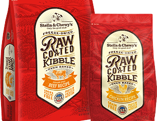Stella & Chewys Raw Coated Baked Kibble